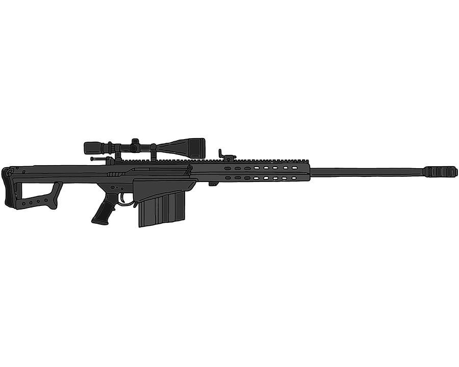 Barrett M107 by    M107