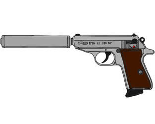 Walther PPK-S by MrOshimida27