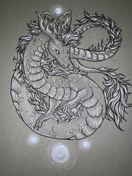 Dragon Ink by aSoulsApogee