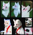 Okami - Amaterasu fursuit mask