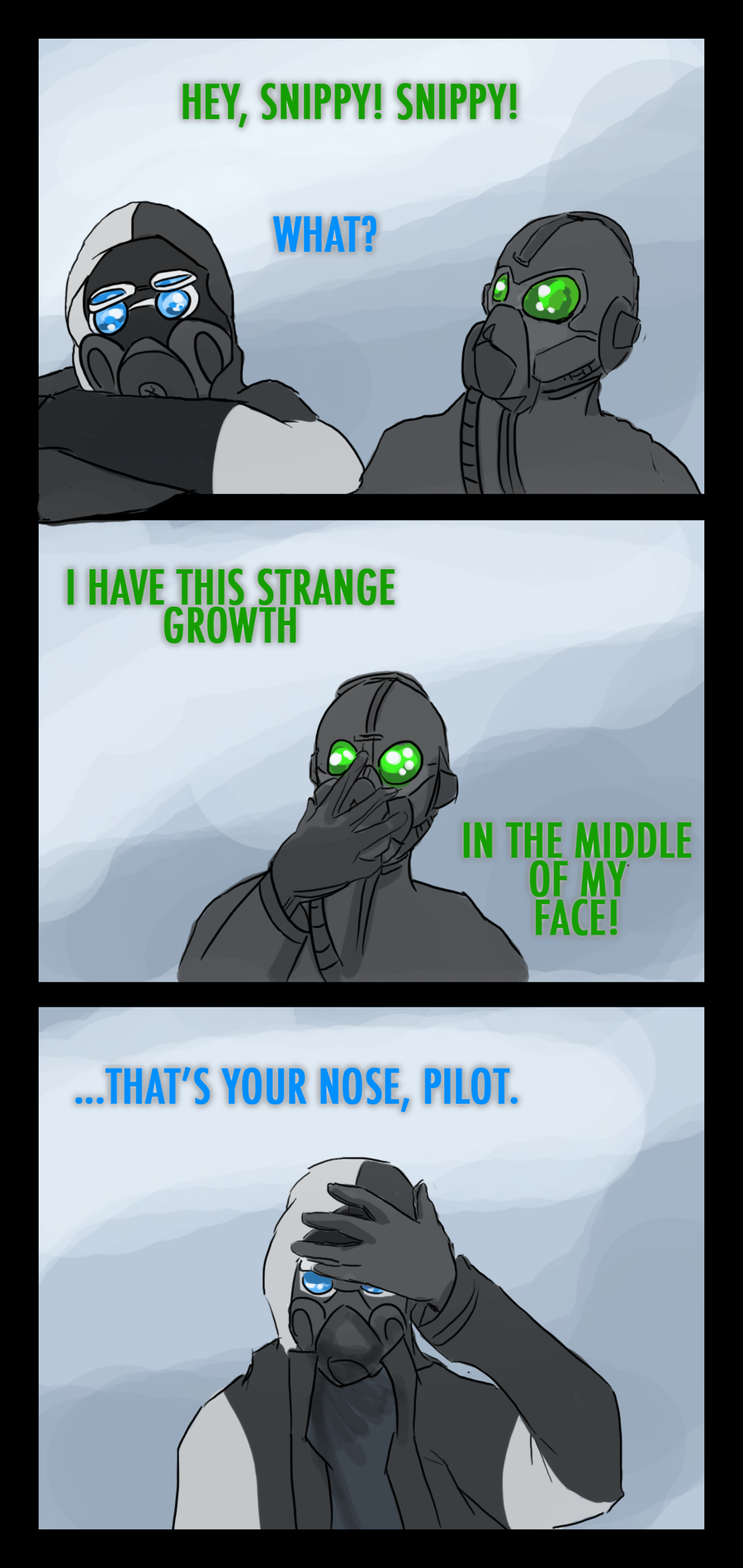 The Nose Knows by eight0fhearts