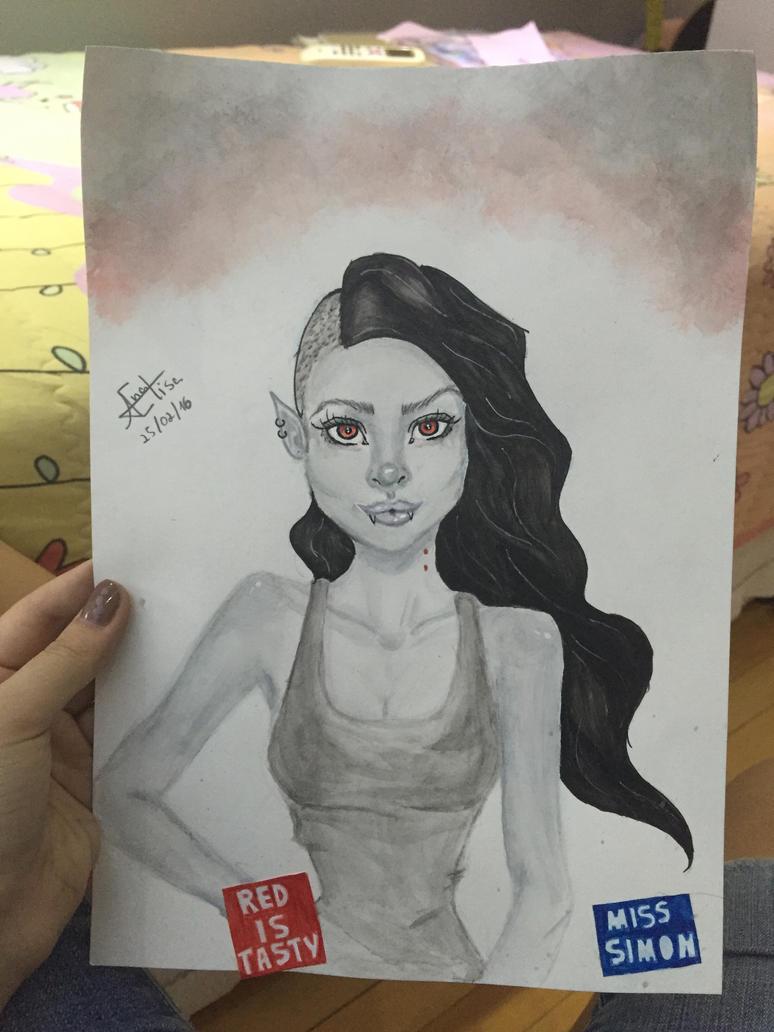Marceline by me by TeukieArt