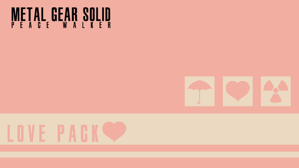 Metal Gear Solid - Chocolate Crunch (Love Pack)