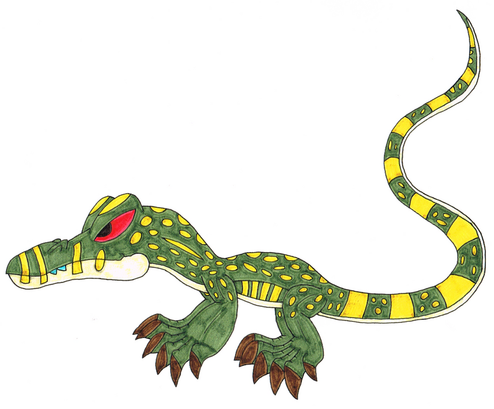monitor lizard by genie dragon on deviantart rh genie dragon deviantart com