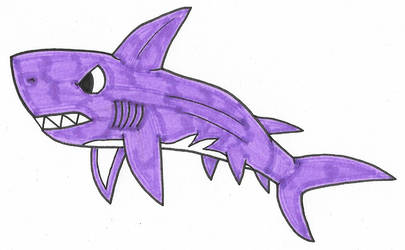 Violet Shark by Genie-Dragon