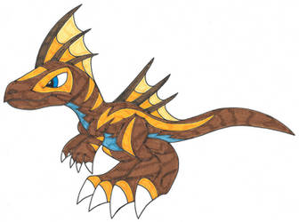 Venataurus by Genie-Dragon