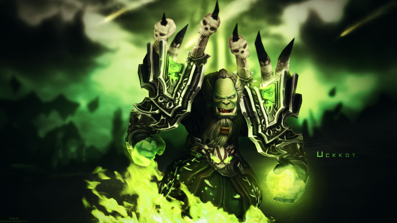 Uckkqt Wallpaper World Of Warcraft By Ginnypinnyart On