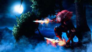 Rehok Wallpaper - World of Warcraft by ginnypinnyart