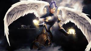 Teinai Wallpaper World of Warcraft by ginnypinnyart