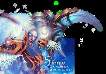Sinnie Chat Cover - World of Warcraft by ginnypinnyart