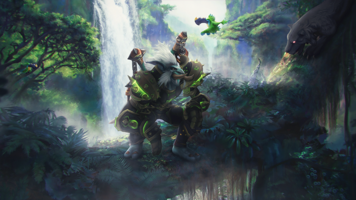 world of warcraft animated wallpaper  Animated Wallpaper - World of Warcraft by ginnypinnyart on DeviantArt