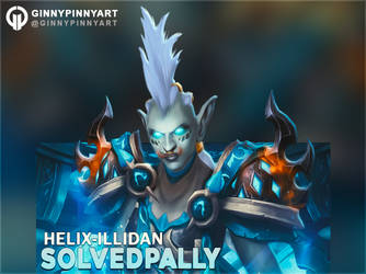 Solvedpally Chat Cover - World of Warcraft by ginnypinnyart