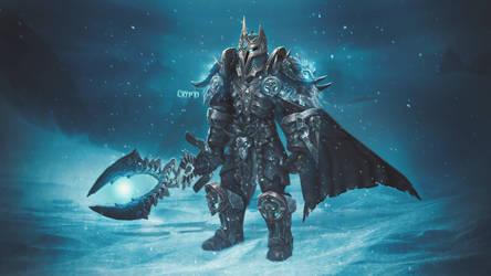 Crypto Wallpaper - World of Warcraft by ginnypinnyart