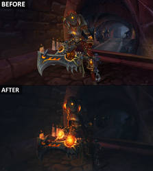 Before and After - World of Warcraft