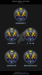 Twitch Panel Buttons - Dhoobs