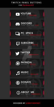 Twitch Panel Buttons - Darkmech
