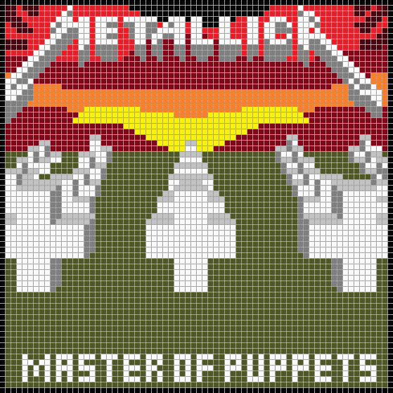Master of Puppets 8-Bit by maghneth on DeviantArt