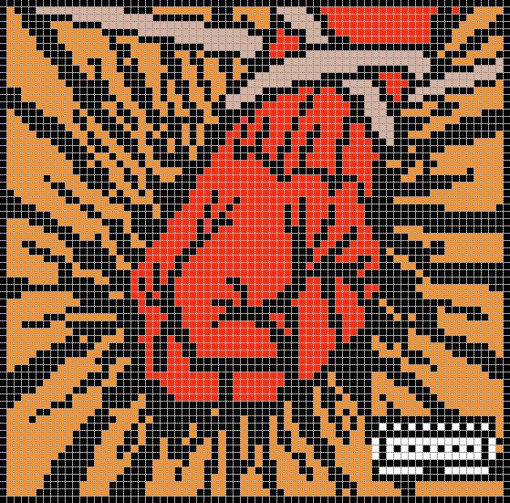 Minecraft Pixel Art Metallica