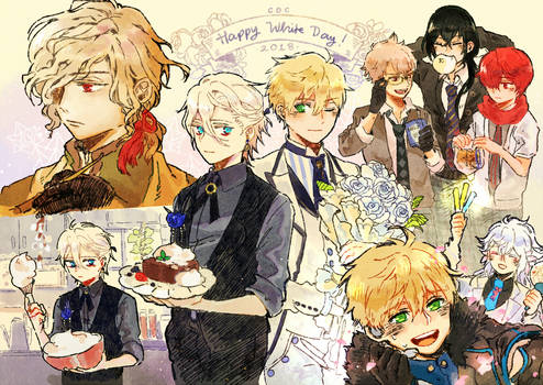 (FGO) Chaldea Boys Collection 2018/White Day
