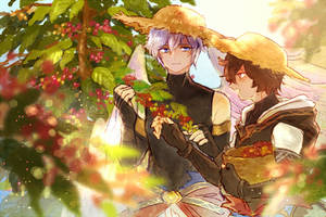 [GBF] Harvesting coffee, with you