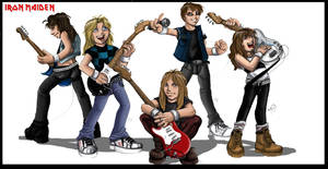 Iron Maiden tribute by Deviant-Troopers