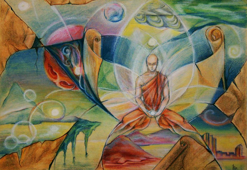 Meditation by Ekaterina-Mekachima