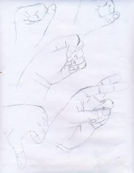 Sketch of Hands 01