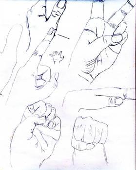 Sketch of Hands 02