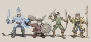 Dungeon Quest Characters