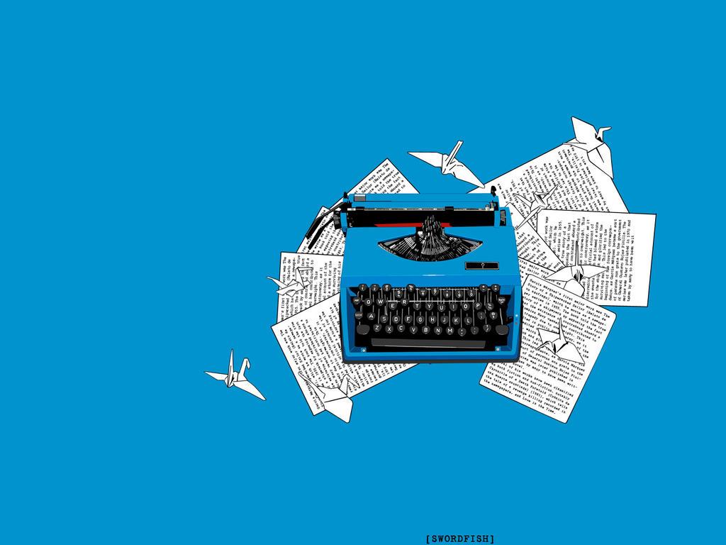 typewriter wallpaper 1920x1080