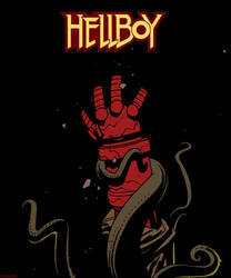 Hellboy by swordfishll