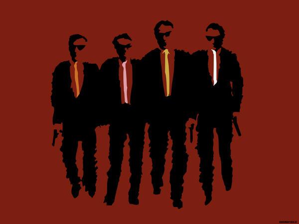 Reservoir Dogs by swordfishll