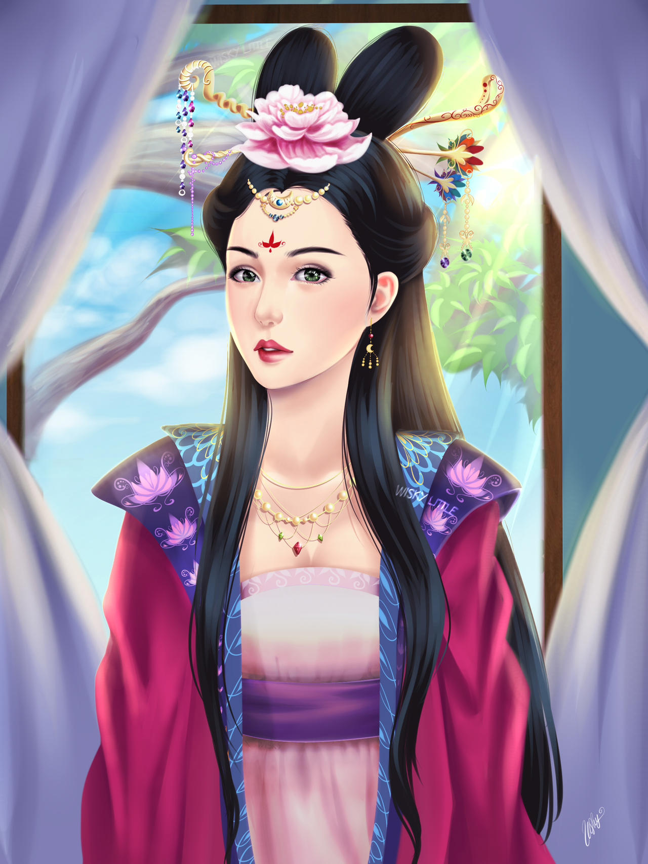 chinese princess by wiskylittle on deviantart