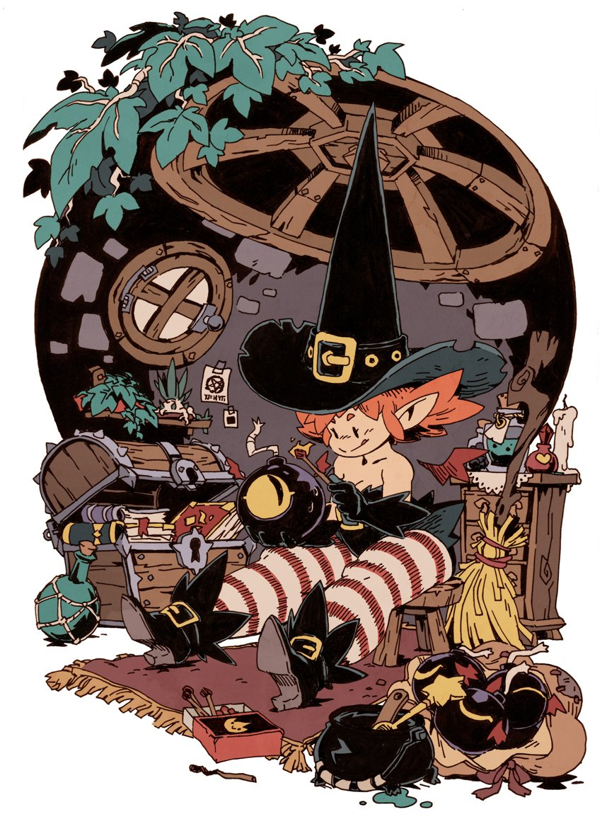 Bomb Witch's House