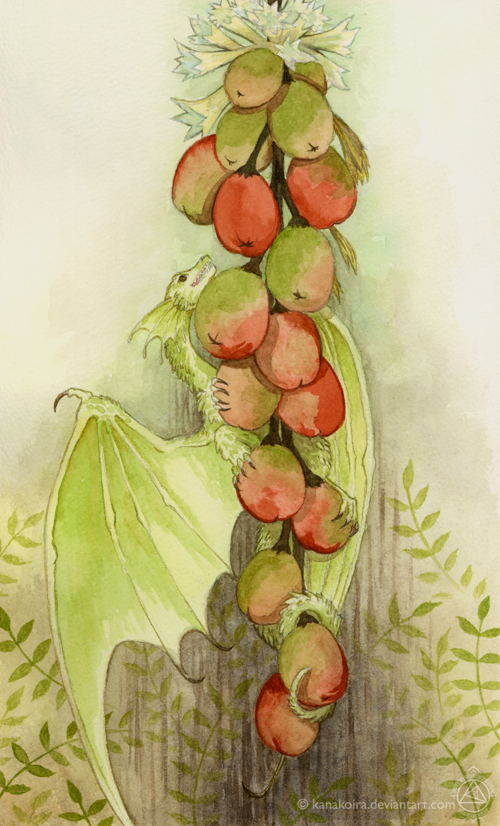 Fruit dragon by Kanakoira