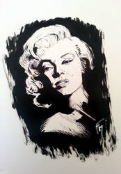 Marylin Monroe by batblues