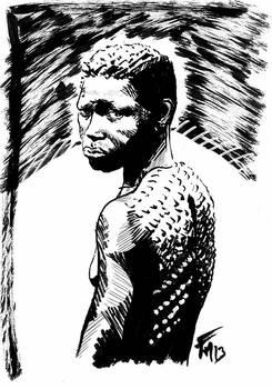 africaine tribue
