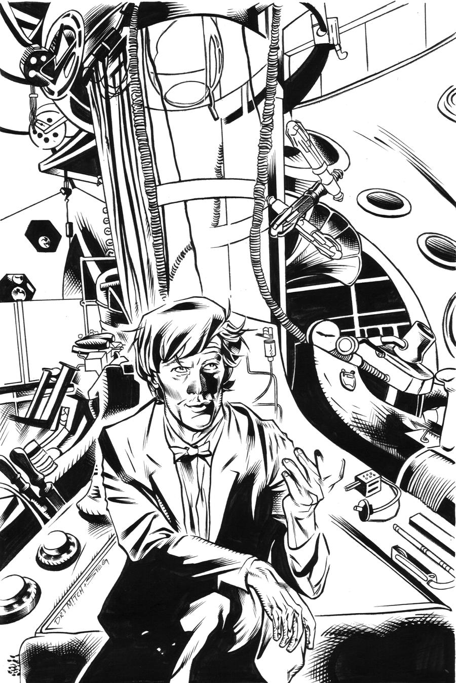 The Doctor inks by MarkStegbauer