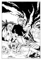 Jonny Quest inks by MarkStegbauer