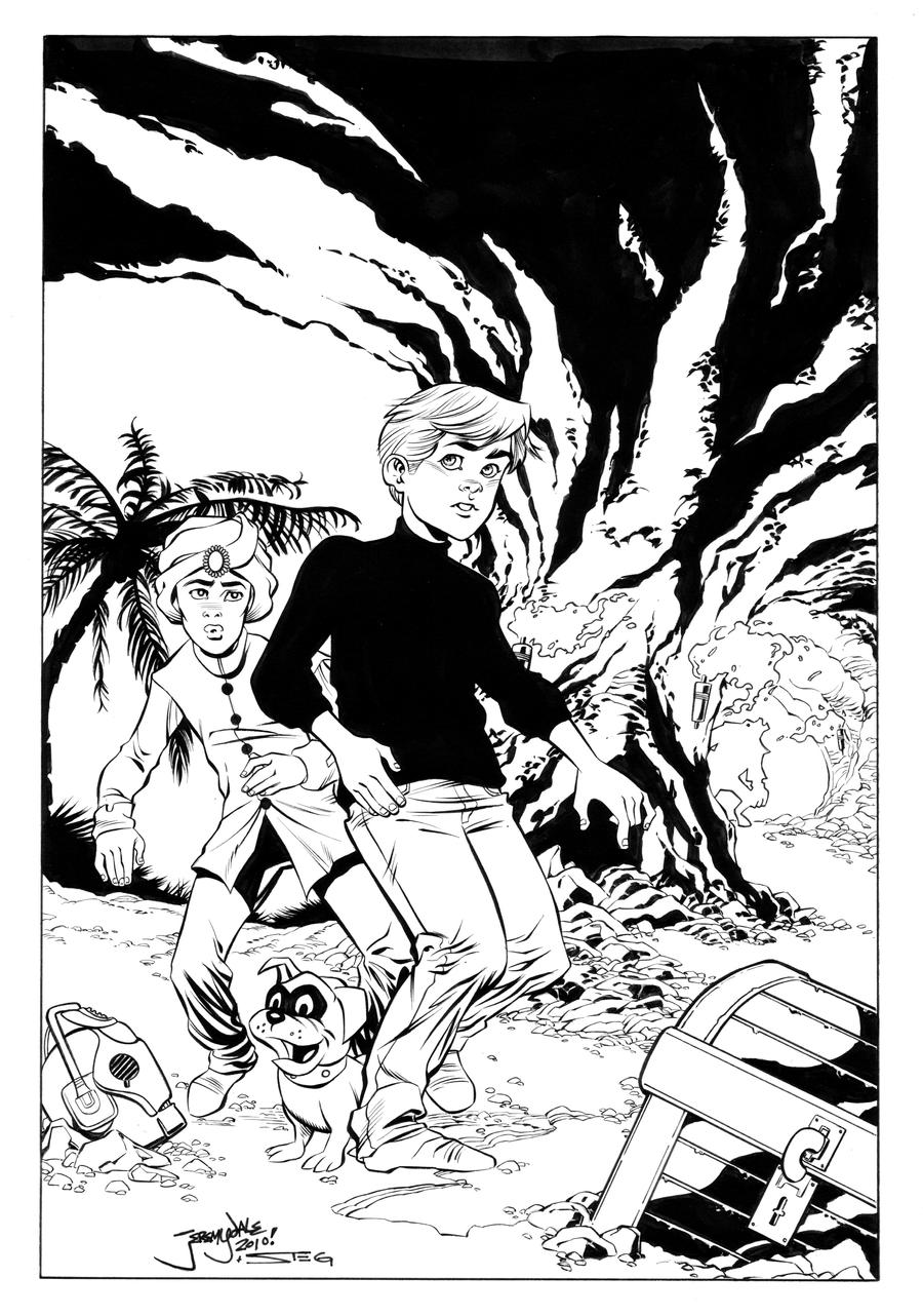 Jonny Quest inks by MarkStegbauer on DeviantArt