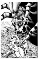 Vasquez Conan inks by MarkStegbauer