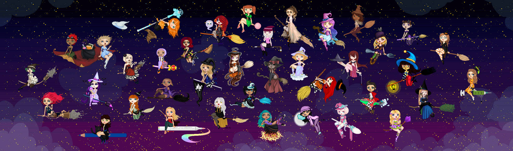 GIANT WITCH COLLAB (2013)