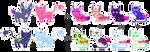 [CLOSED] Spacebunnies! :D by mouldyCat
