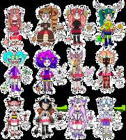 [CLOSED] UniCat humanoids by mouldyCat