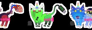 [CLOSED - AUCTION] new mutants! ^^ by mouldyCat