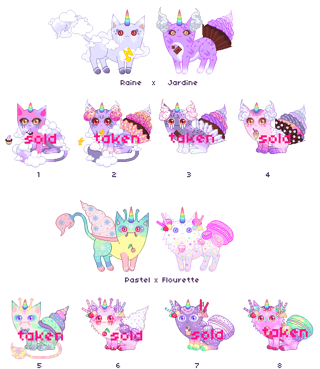 [CLOSED] Pastry Butt Breedings by mouldyCat