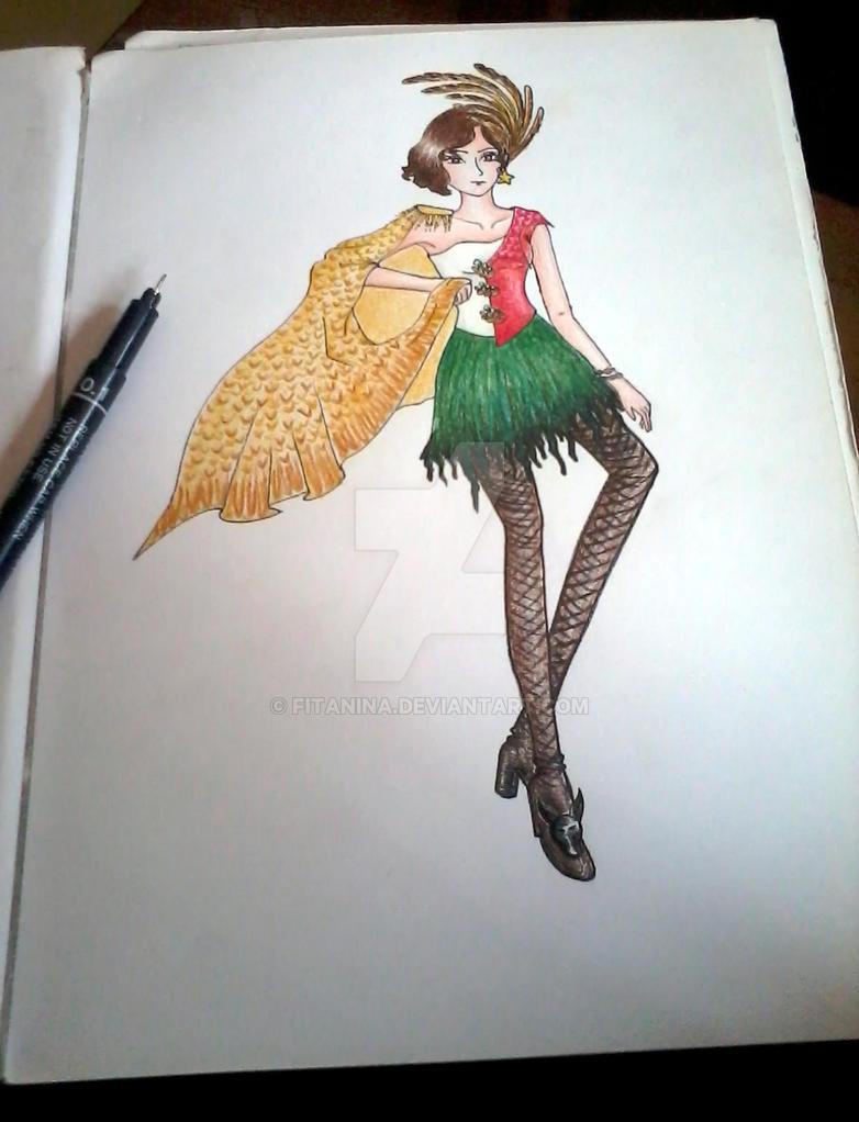 Couture Fashion Design by fitanina