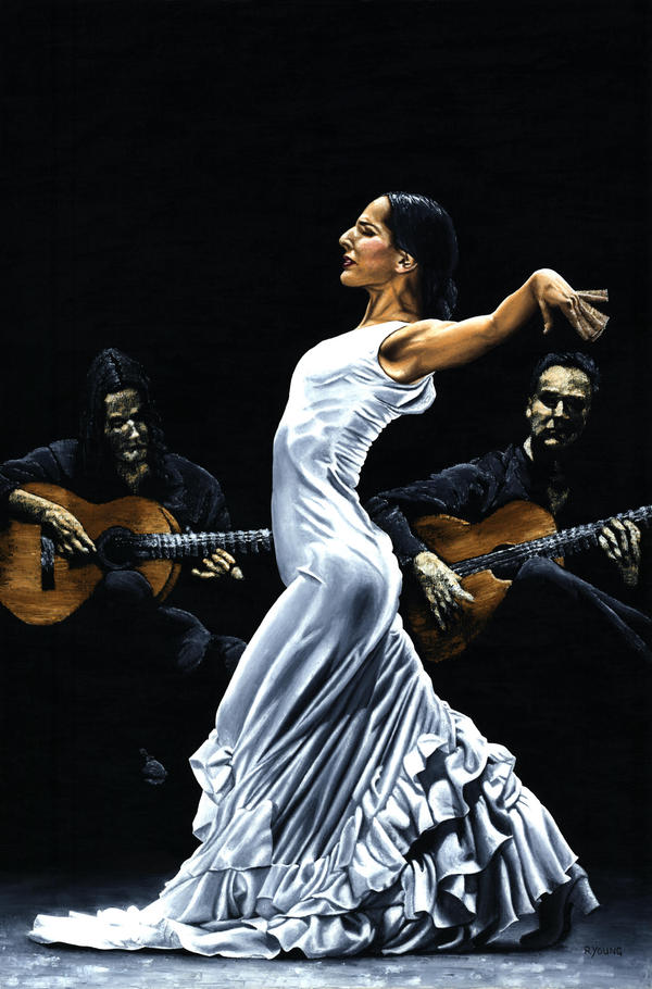 Ples,muzika igra Flamenco_Concentration_by_ryoung