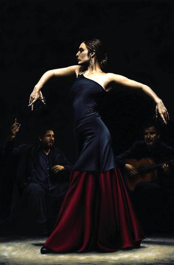 Ples,muzika igra Encantado_por_Flamenco_by_ryoung