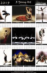 2019 fine art dance calendar